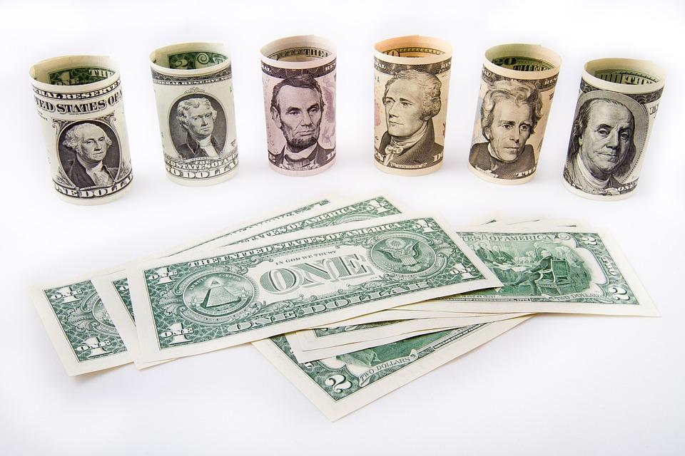 americké peníze