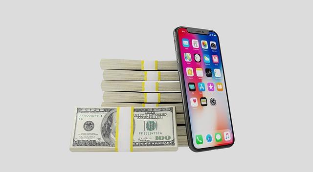 mobil a peníze