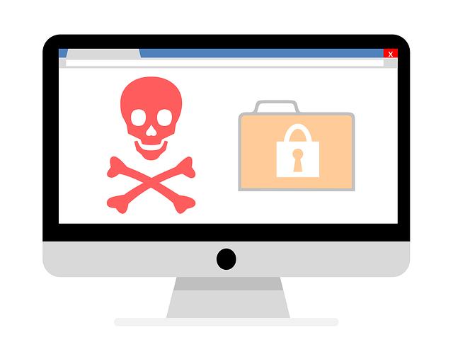 malware, vir, výstraha