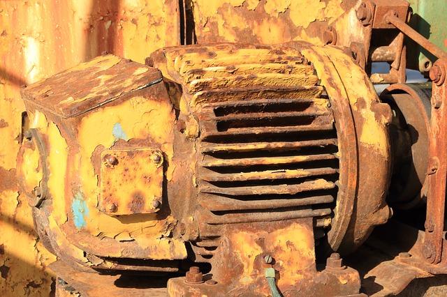 Starý elektromotor