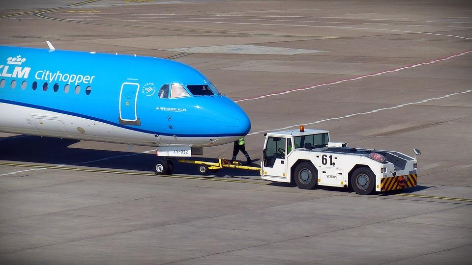 posunované letadlo